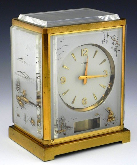 267: Unusual LeCoultre Atmos Mantel Clock, Caliber 526-
