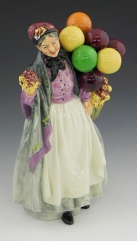 132: Royal Doulton Figure of the Balloon Lady, HN1843,