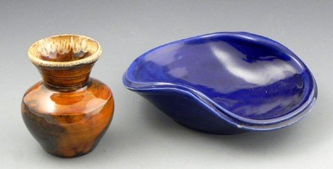 137: Two Pieces of Van Briggle Pottery, 20th c., a coba
