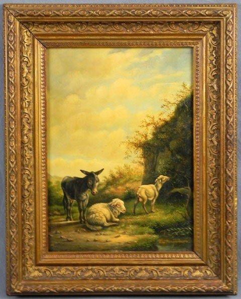 """179: Adrianus Marijnissen (1899-    ), """"Farm Animals,"""""""