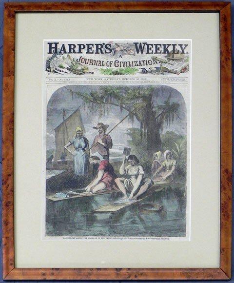 "184: ""Washing Day Among the Acadians on the Bayou Lafou"