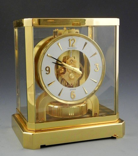 780: Jaeger LeCoultre Atmos Clock, c. 1970, serial # 39