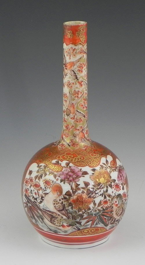 767: Japanese Polychromed and Gilt Decorated Mallet For