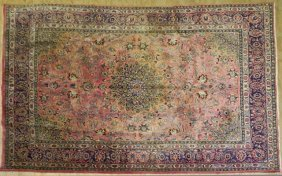 Persian Mashad Carpet, 8' X 11' 5.