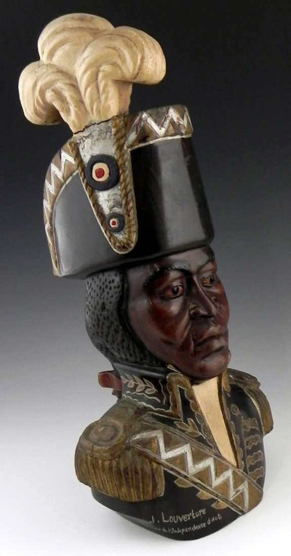 86: Ulysse Dabouze (Haitian, early 20th c.), a carved,