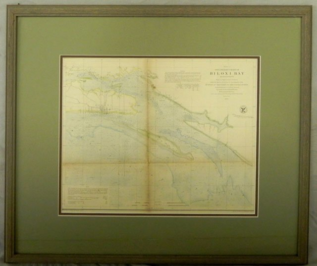 "795: ""Preliminary Chart of Biloxi Bay, Mississippi,"" 18"