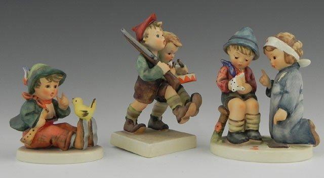 833: Group of Three Hummel Figurines: Little Nurse, # 3