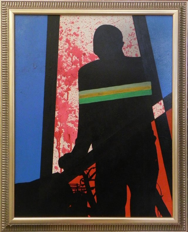 "869: Neko Burke (1982-   , California),  ""Standing Figu"