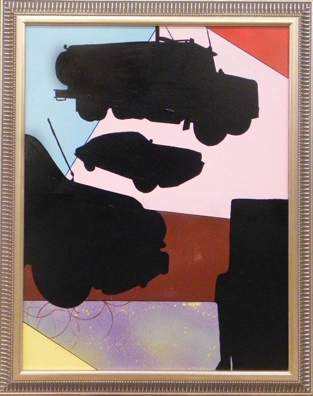 "870: Neko Burke (1982-   , California),  ""Cars,"" 21st c"