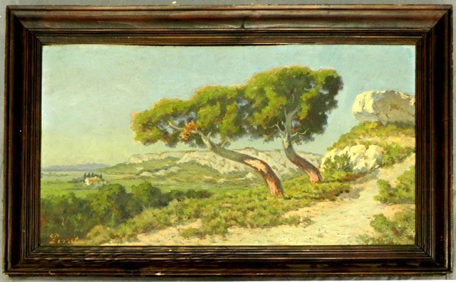 """873: Perret, """"View of the House in the Valley,"""" early 2"""