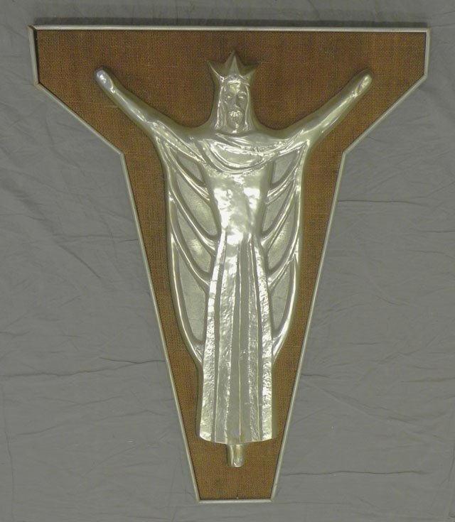 "875: Andrea Baciagalupa (1923-  , New Mexico), ""Christ"