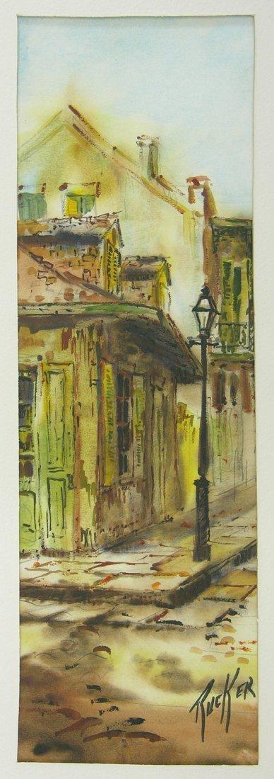 "826: Robert Rucker (1932-2000), ""Lafitte's Blacksmith S"