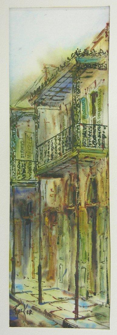"827: Robert Rucker (1932-2000), ""French Quarter Balconi"
