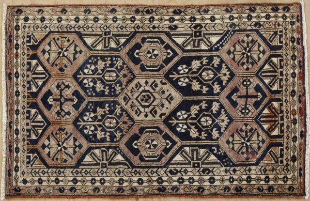 22: Persian Bakhtiari Carpet, 5' x 6' 9