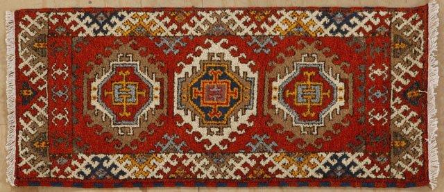 22A: Kazak Carpet, 2' 1 x 4' 1.