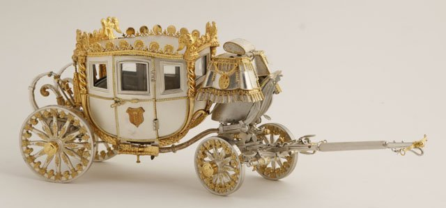 295: Fisher Bodies Sterling and Gilt Sterling Coach, 19