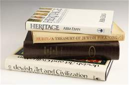 1374 Four Jewish Books HeritageCivilization and the