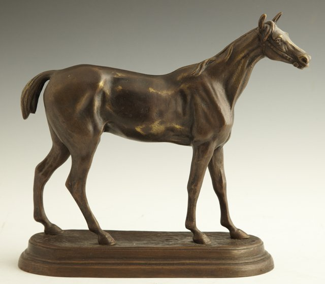"8: After Charles Valton (1851-1918), ""Standing Stallion"