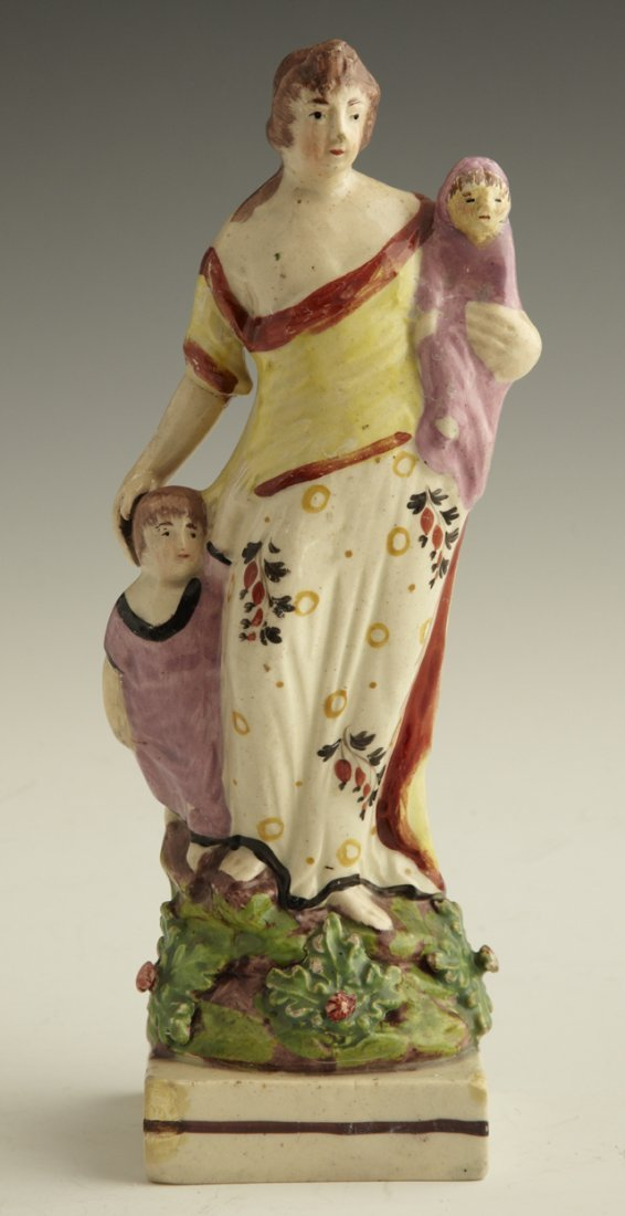 16: Staffordshire Figural group, c. 1850