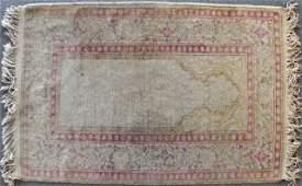 1093: Turkish Kayseri Prayer Rug, 2' 11 x 4' 6.