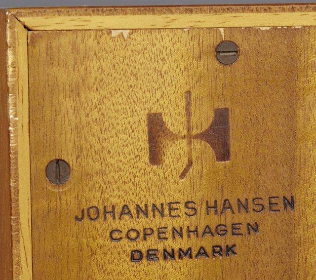 Hans Wegner Danish Modern Carved Teak Sideboard, c. 196 - 4