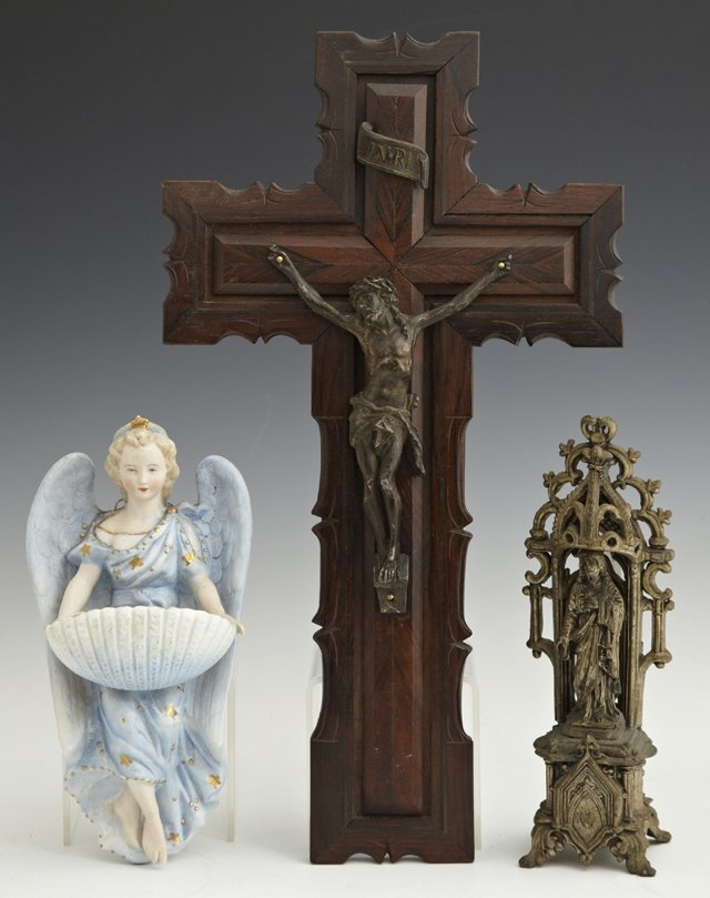 Group of Three Religious Items, 20th c., consisting of