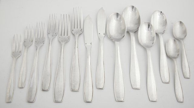 One Hundred Three Piece Set of Christofle Silverplated