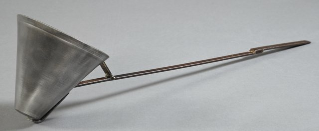 Aluminum and Steel Commercial Wine Dipper, early 20th