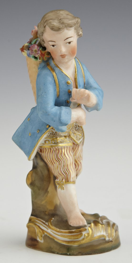 Old Paris Porcelain Figure, 19th c., in the manner of