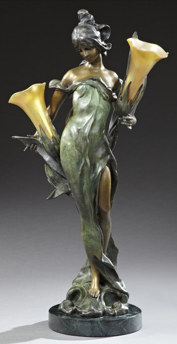 After Pierre Roche (1855-1922), Art Nouveau Style