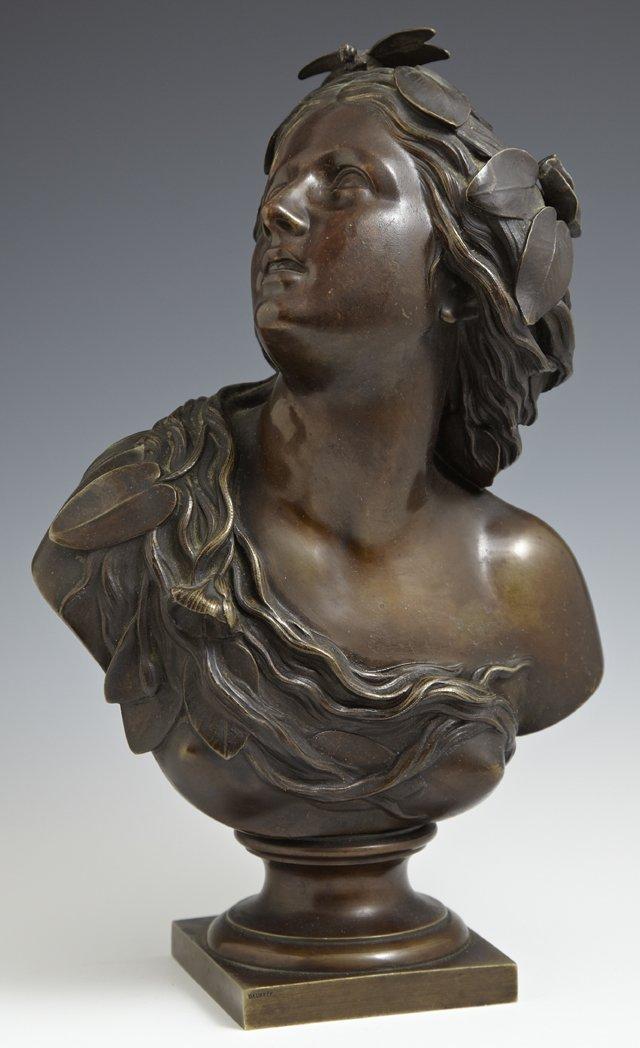 "Charles Auguste Fraikin (1817-1893), ""Art Nouveau Woman"