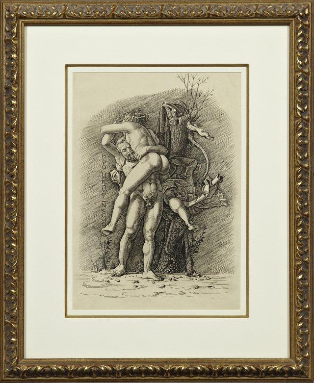 "Andrea Mantegna (1431-1506), ""Hercules and Antaeus,"""