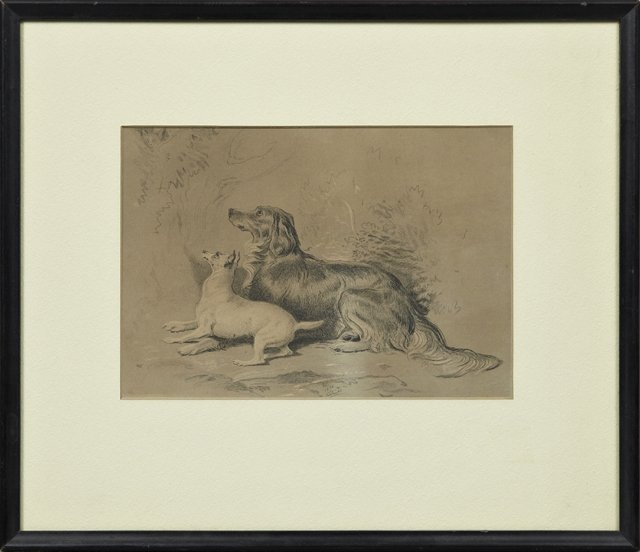 """Group of Four Engravings, 19th c., """"The Proposal,"""" """"The"""