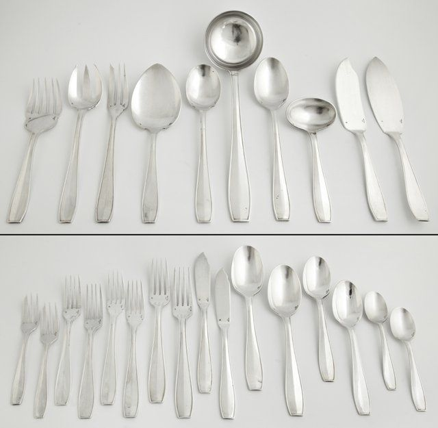 One Hundred and Two Piece Set of Christofle