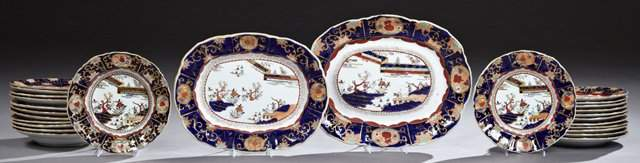 Twenty-Six Piece Set of Mason's Ironstone China, 19th