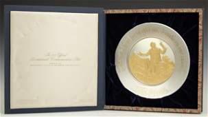 John Quincy Adams 1974 Official Bicentennial Sterling