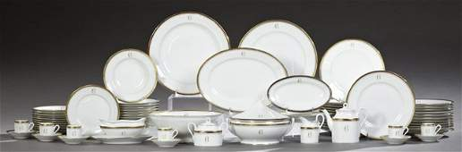 SeventyOne Piece Set of Italian Porcelain Dinnerware