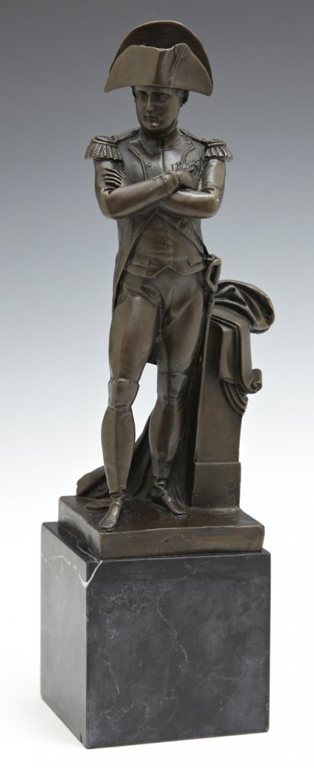 "Chinese School, ""Napoleon Bonaparte,"" 20th c., bronze"