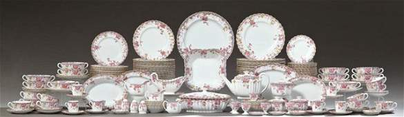 Two Hundred One Piece Set of Copeland's Spode China,