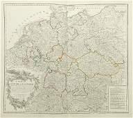 Group of Fifteen Double Sheet Atlas Maps of Europe 18t