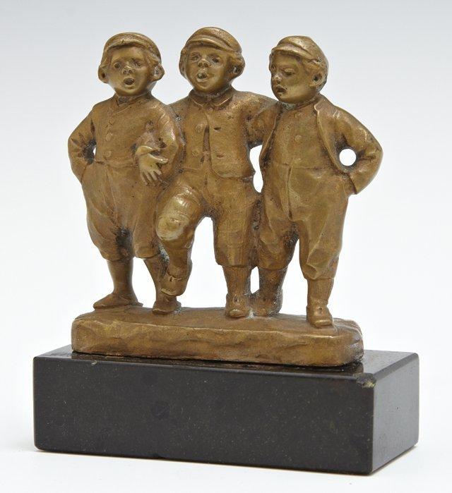 "Julius Paul Schmidt-Felling (1835-1920), ""Three Singing"