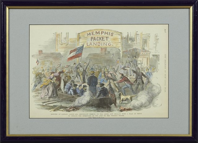"""""""The War on the Mississippi-Landing of Capt. Bayley and"""