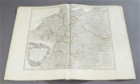 Group of Seventeen Double Sheet Atlas Maps of Europe