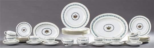 FortyFour Piece Set of Wedgwood Bone China Dinnerware