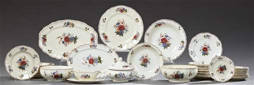 FortyThree Piece Set of French Provincial Ceramic
