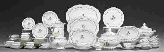 Eighty-Nine Piece Partial Royal Heidelberg Porcelain