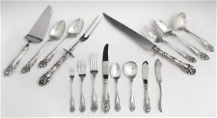 Sixty Piece Set of Sterling Flatware, by Wallace, in