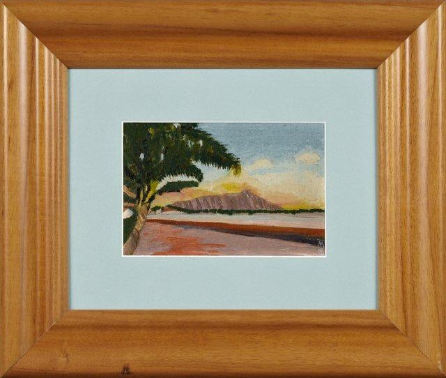 "Mayne Torrell Williams (Hawaii), ""Sunset on"