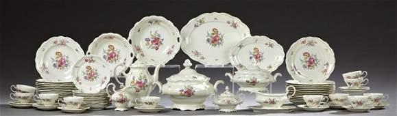 Sixty-Nine Piece Partial Dinner Service by Rosenthal,