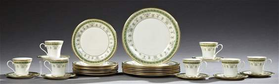 TwentyEight Piece Set of Gorham China Dinnerware in